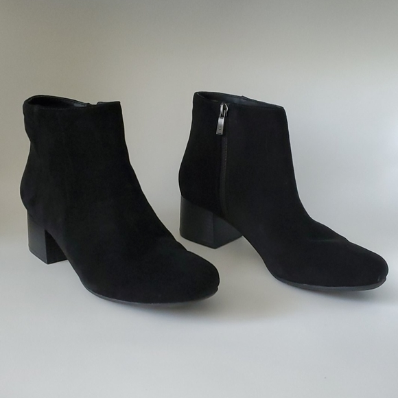 Black Suede Ankle Boots   Poshmark